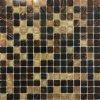 Skleněná mozaika hnědá mix žíhaná