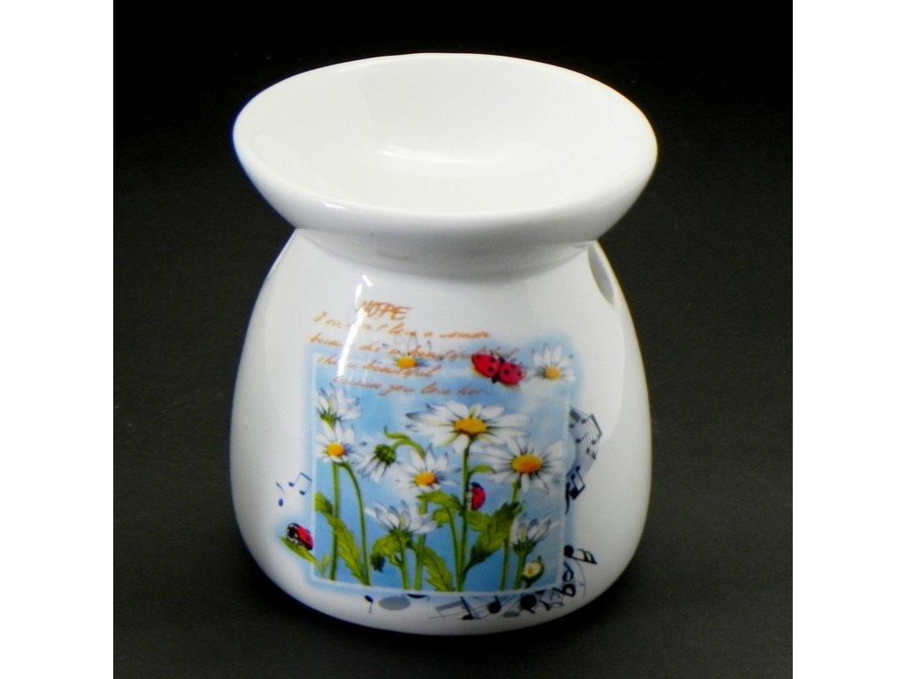 aromalampa hermanek keramika zelena
