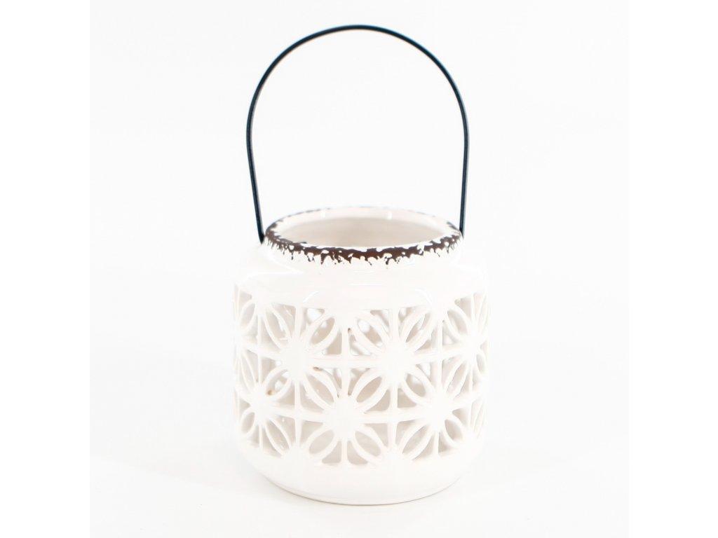 lucerna porcelan 12cm