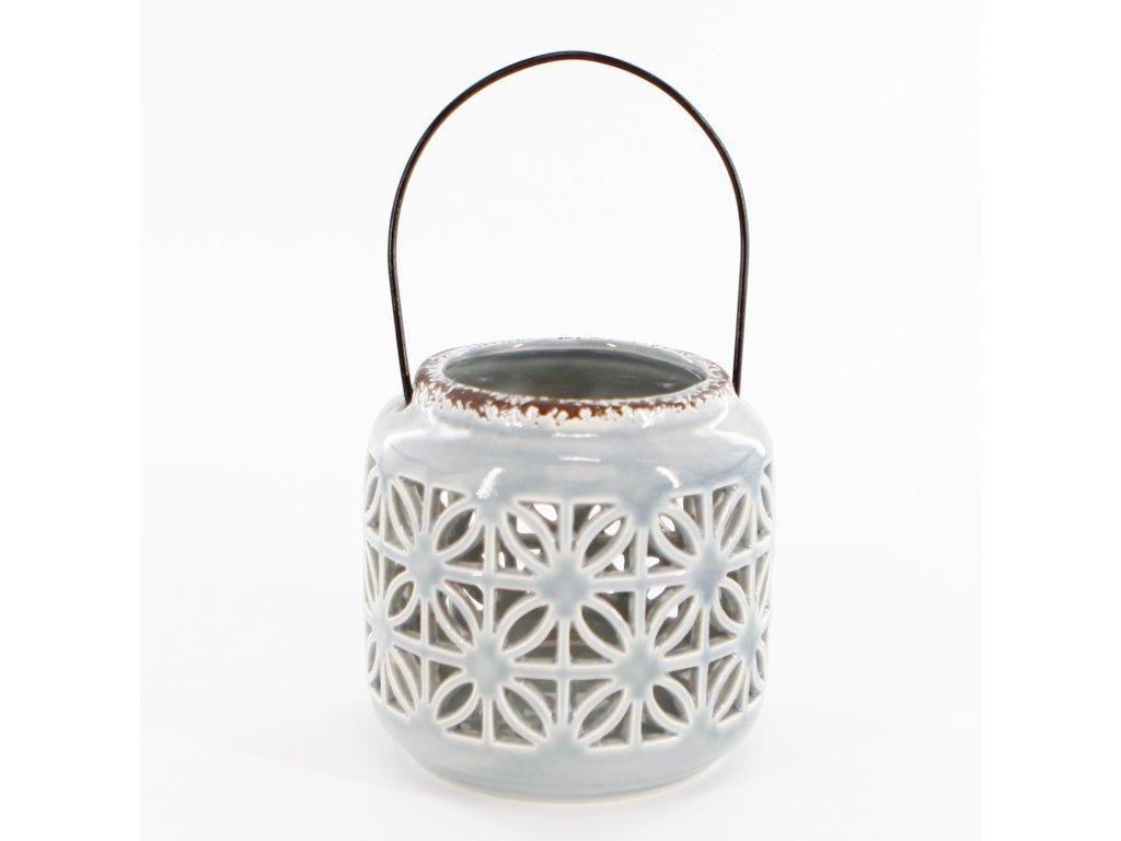 lucerna porcelan pr12cm seda