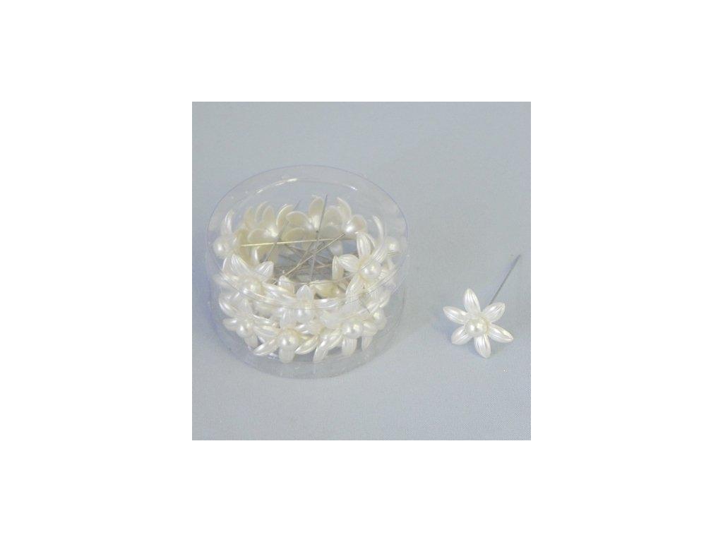 kvetinky spendlik akryl s 24 kremova
