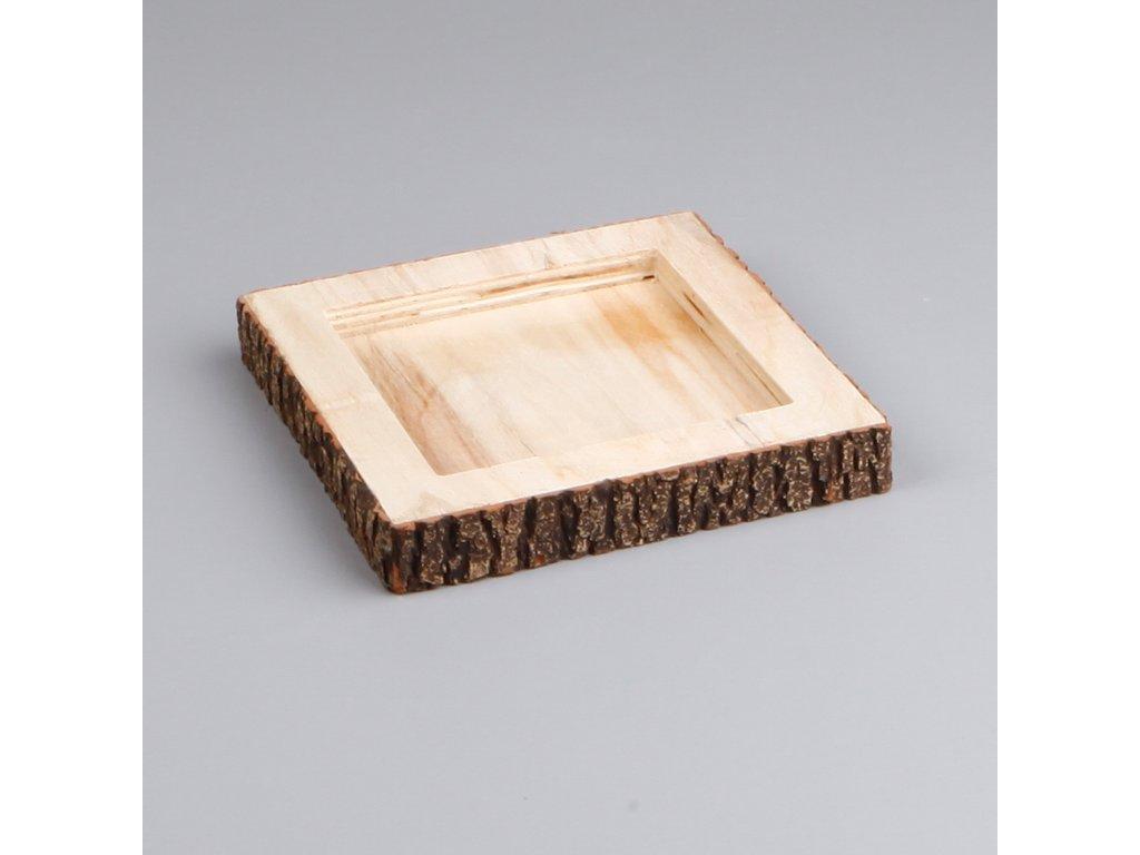tac drevo 20x20cm natural