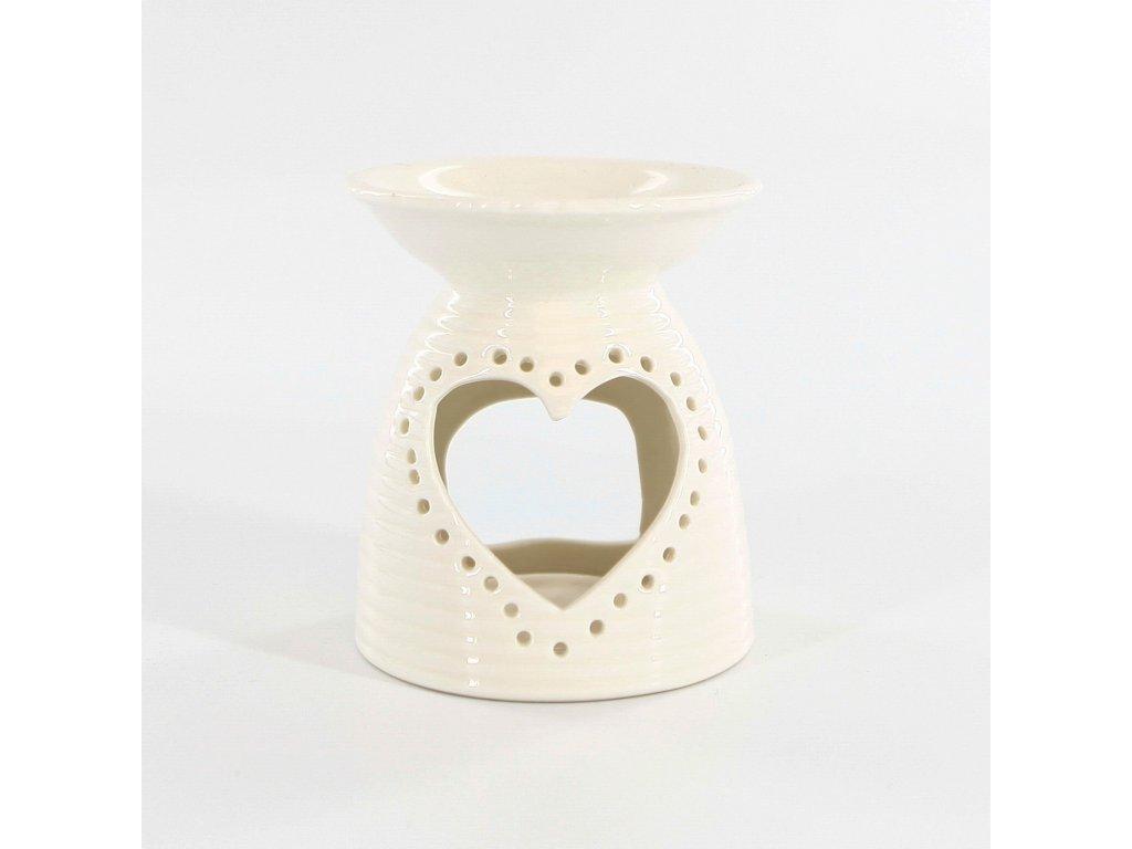 aromalampa porcelan 12 7 cm bila