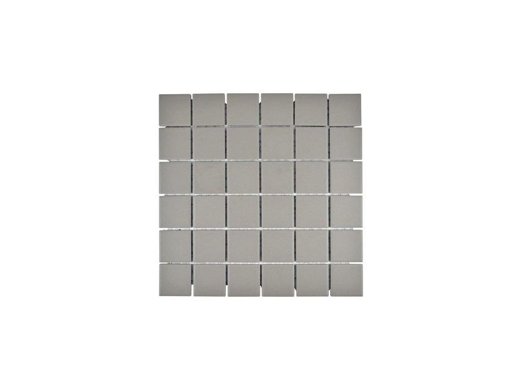 48x48 šedá matná