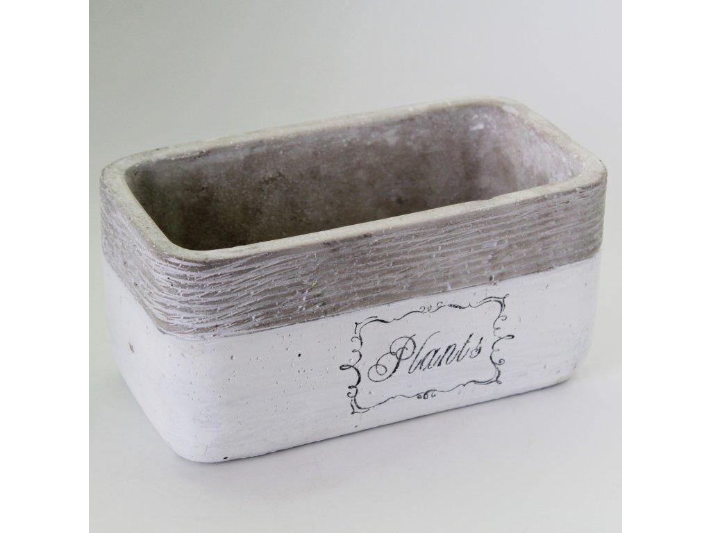truhlik keramika plants 20x10 5v10cm