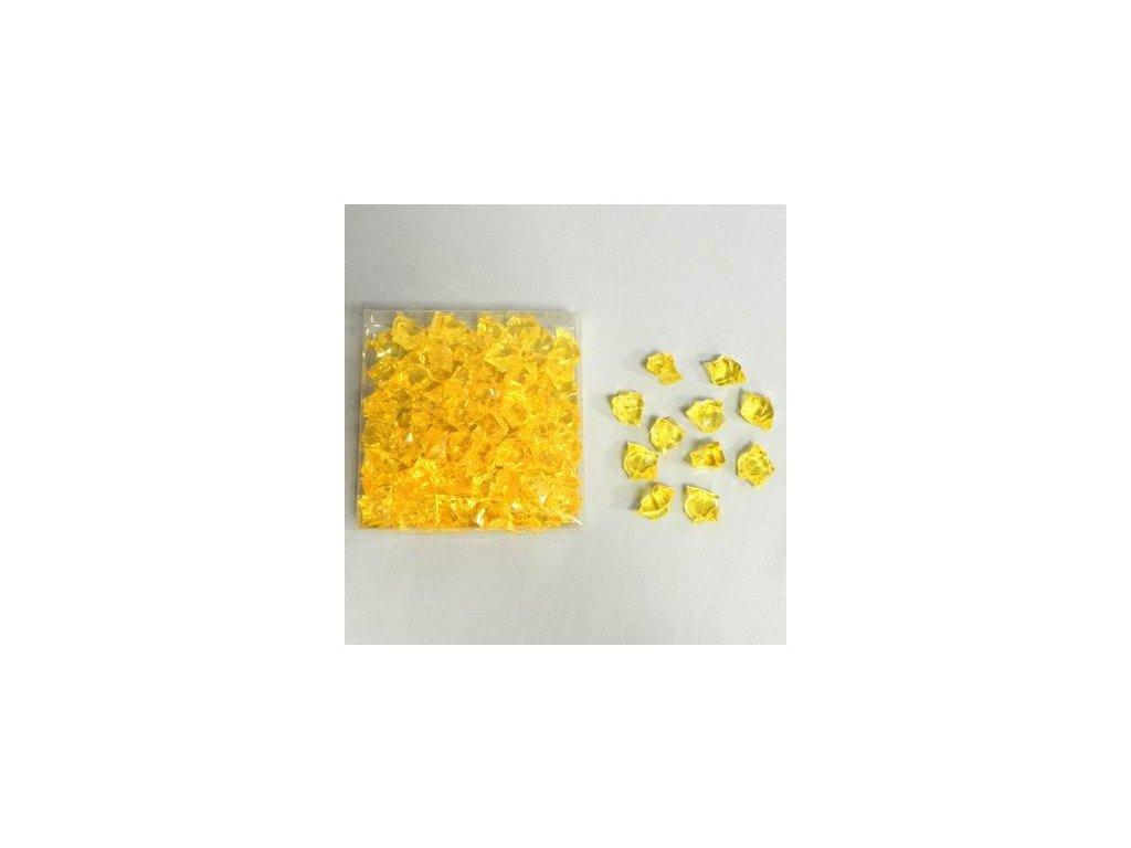krystaly pvc 260g sv zluta