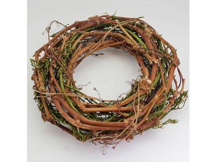 kruh prouti pr 25cm hnedo zeleny