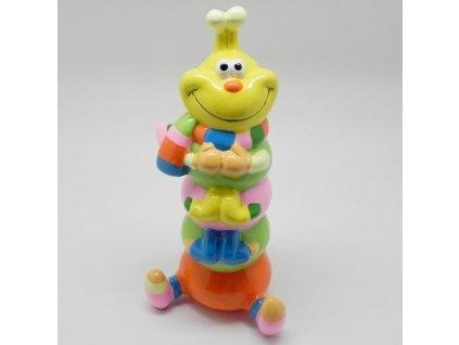 housenka pokladnicka keramika mix