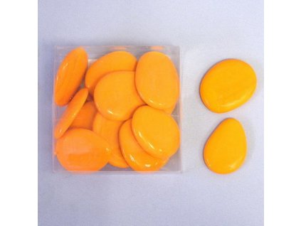 nugety sklo placate 300g oranz