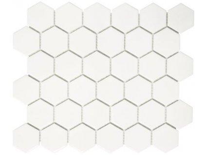 Hexagon bílý