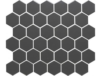 Hexagon grey mat 51x59 280x325 mm