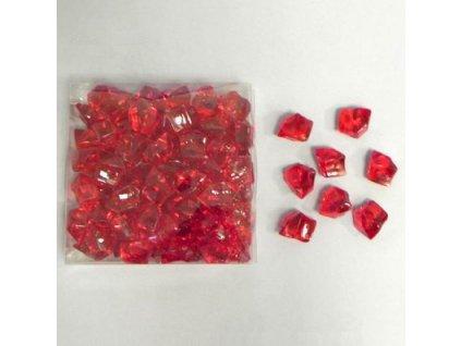 krystaly pvc 260g cervena