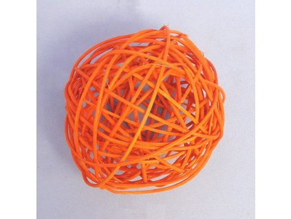 F42 27883 165C 6CM koule aranz ratan 6cm oranz