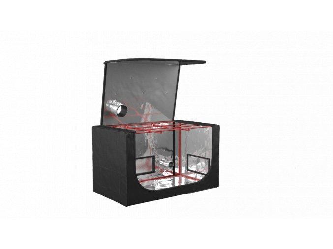 Black Orchid - Geno-box 70x120x70cm Propagating Tent