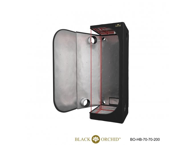 Black Orchid - Hydro-box 70x70x200cm Tent