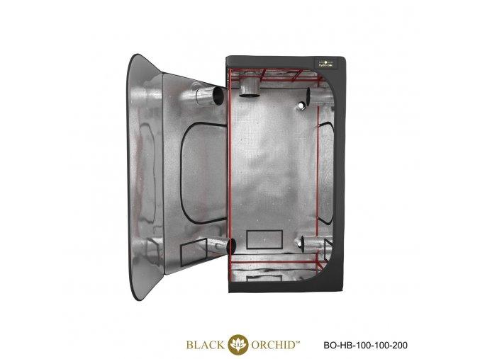 Black Orchid - Hydro-box 100x100x200cm Tent