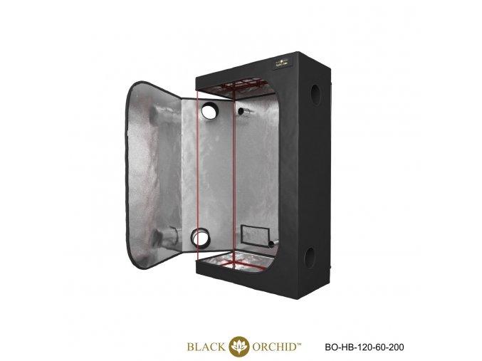 Black Orchid - Hydro-box 120x60x200cm Tent