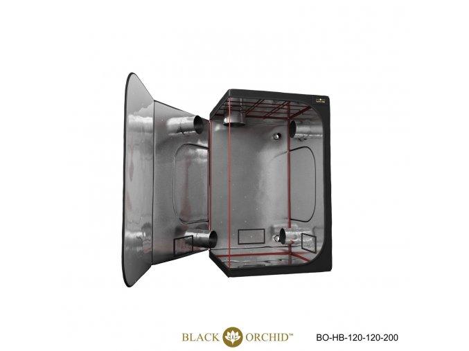 Black Orchid - Hydro-box 120x120x200cm Tent