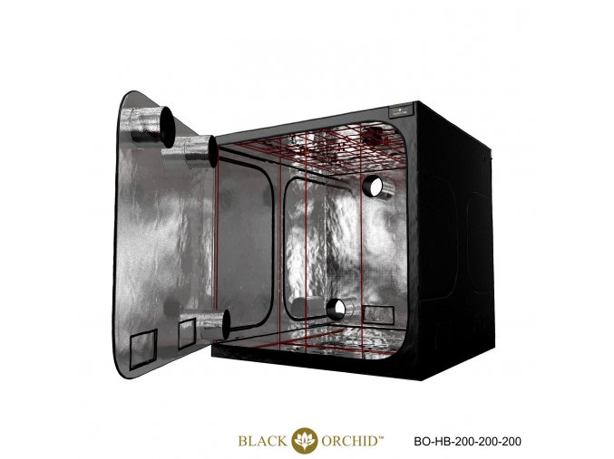 Black Orchid - Hydro-box 200x200x200cm Tent