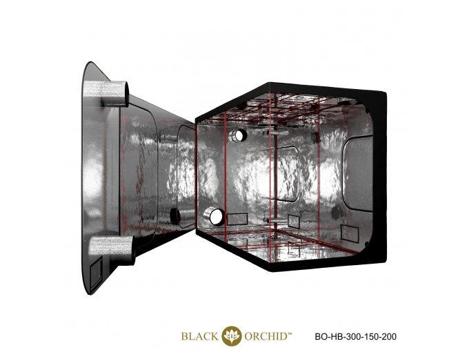 Black Orchid - Hydro-box 300x150x200cm Tent
