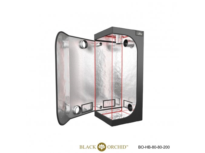 Black Orchid - Hydro-box 80x80x200cm Tent