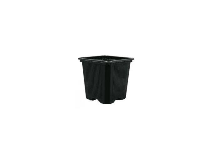 Teku - Květináč plastový, hranatý s křížovým dnem VQB 7x7x8cm