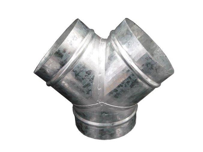 Y spoj pro ventilaci, kalhoty 250-200-200mm