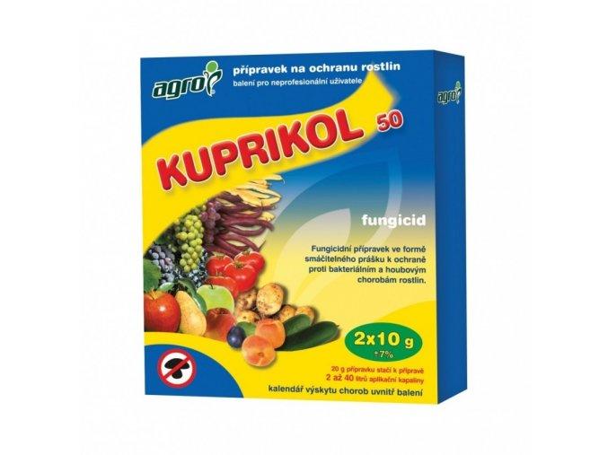 AGRO - Kuprikol 50 2x10g proti houbovým chorobám