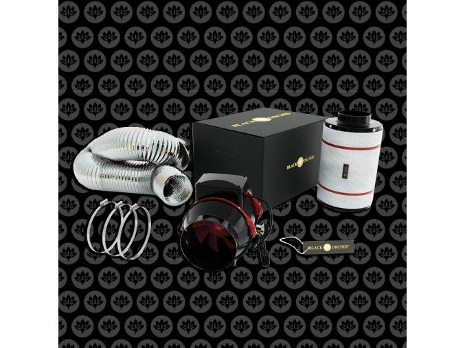 Black orchid - Mixed-flo Starter kit 125mm