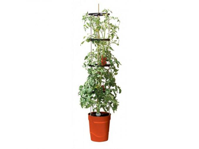 Garland - Grow Tower samozavlažovací květináč červený