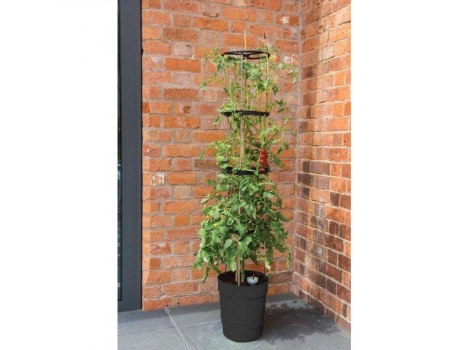 Garland - Grow Tower samozavlažovací květináč antracit