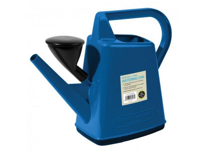 Plastová konev 5l Garland Design modrá