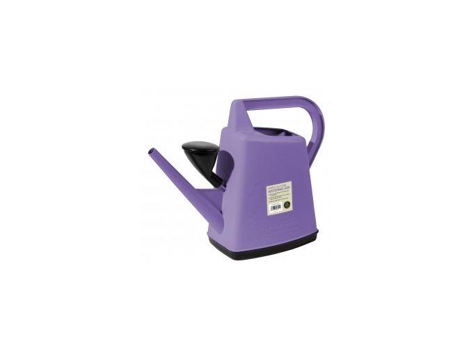 Plastová konev 10l Garland Design fialová