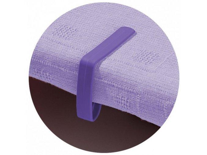 Garland - úchytky prostírání stolní 4ks fialové W2042