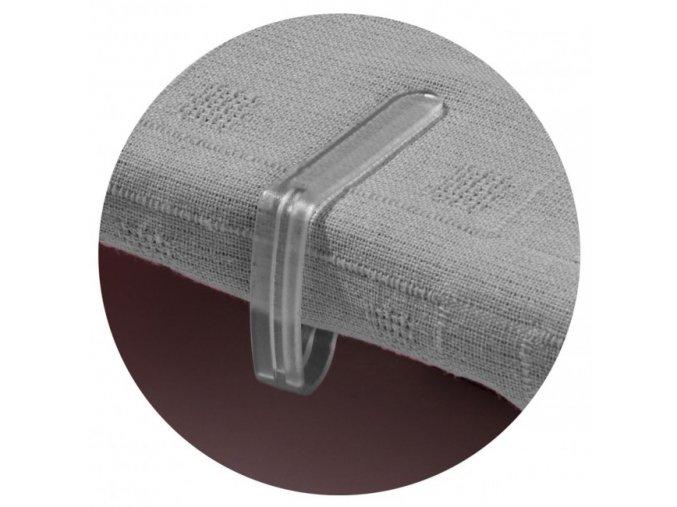 Garland - úchytky prostírání stolní 4ks průhledné W2040