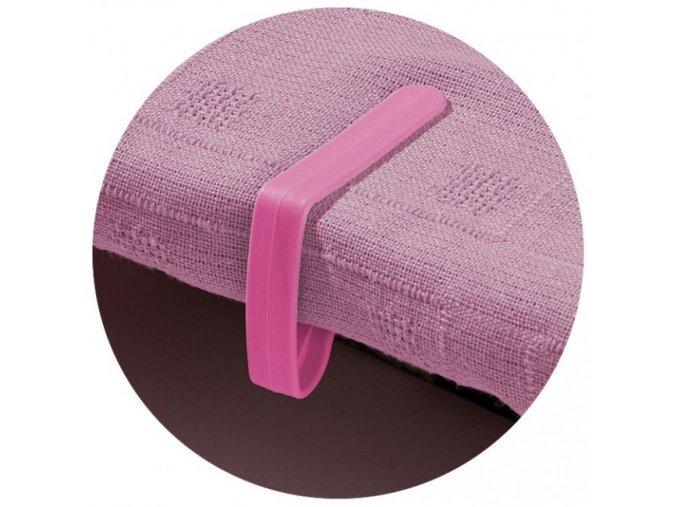 Garland - úchytky prostírání stolní 4ks růžové W2043