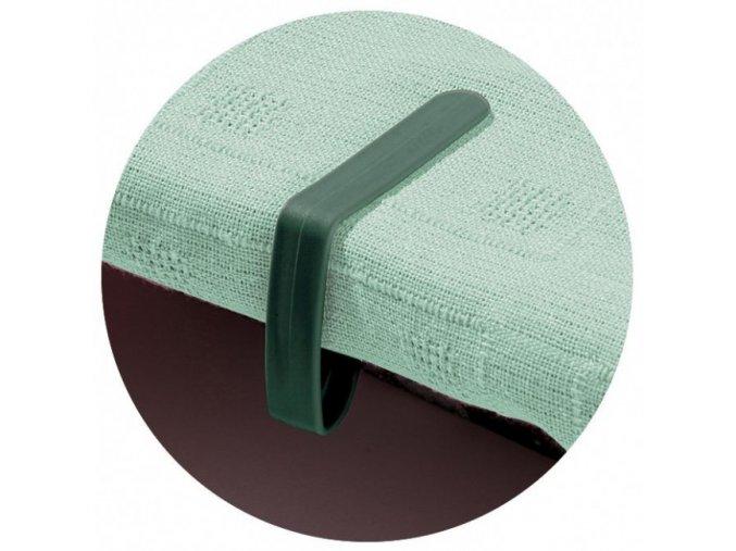 Garland - úchytky prostírání stolní 4ks zelené W2041