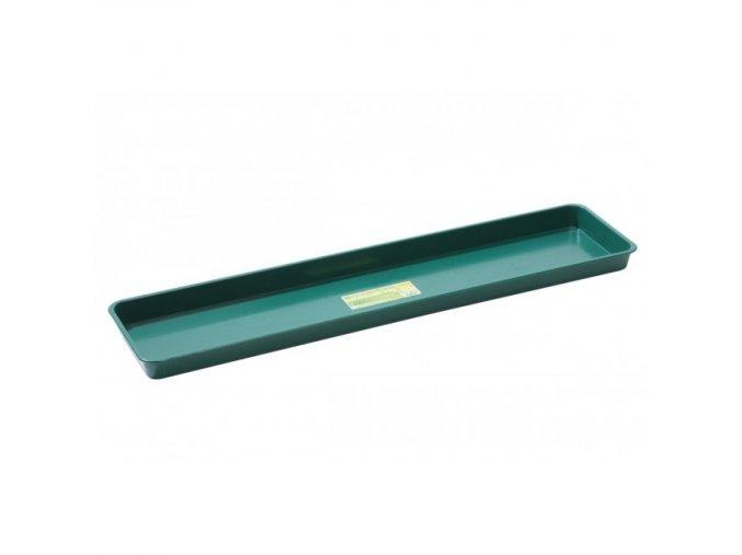 Garland - podmiska parapetní zelená 76*17,5*3,5cm