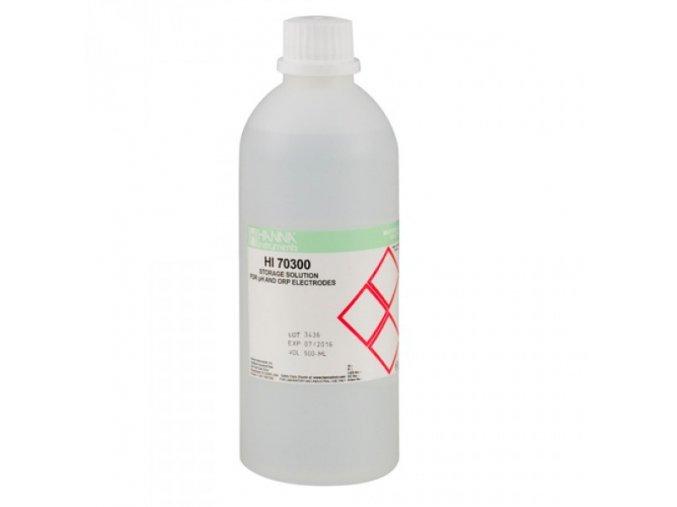 Uchovávací roztok pro pH a ORP elektrody, 500 ml