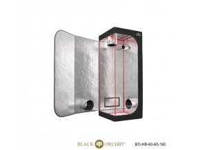 Black Orchid - Hydro-box 60x60x160cm Tent