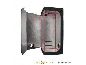 Black Orchid - Hydro-box 70x70x160cm Tent