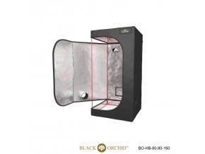 Black Orchid - Hydro-box 80x80x160cm Tent
