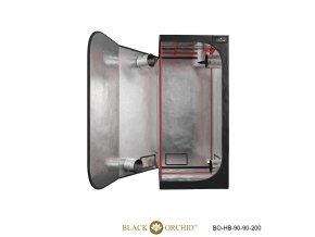 Black Orchid - Hydro-box 90x90x200cm Tent