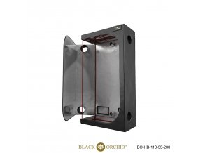Black Orchid - Hydro-box 110x55x200cm Tent
