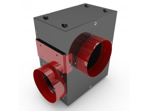 Black Orchid - Acoustica - Inline Box Fan 400-850m3/h