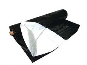PE zahradnická černobílá folie 2m široká  1m