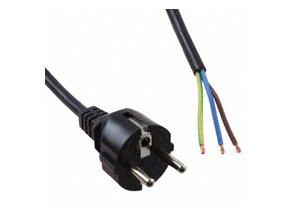 Kabel 2,5m síť - bez ukončení