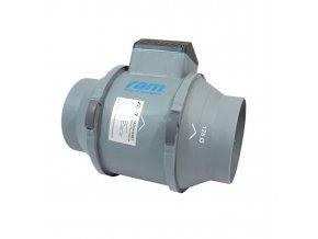 RAM Silent Ø125mm 248/284 m³/h
