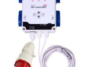 GSE Digitální kontroler ventilátorů - 16A / 4x2200W / 400V