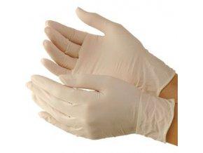Latexové rukavice vel. L pár